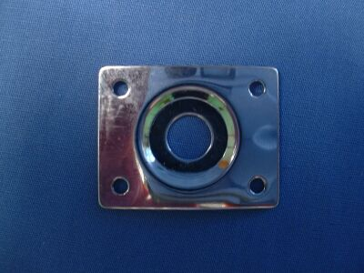 Photo of Gibson Style Square Jack Socket Plate